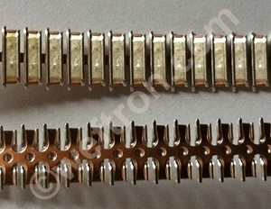 Band 8 Louver_tron 108 high performance contact band